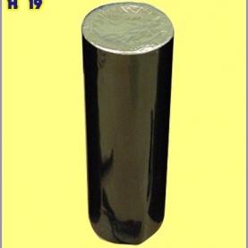 """Трубка однозарядная калибр 2"""" эффект Red mine + titanium sal"""