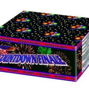 Проффессиональные салютные установки - Conundown Finale