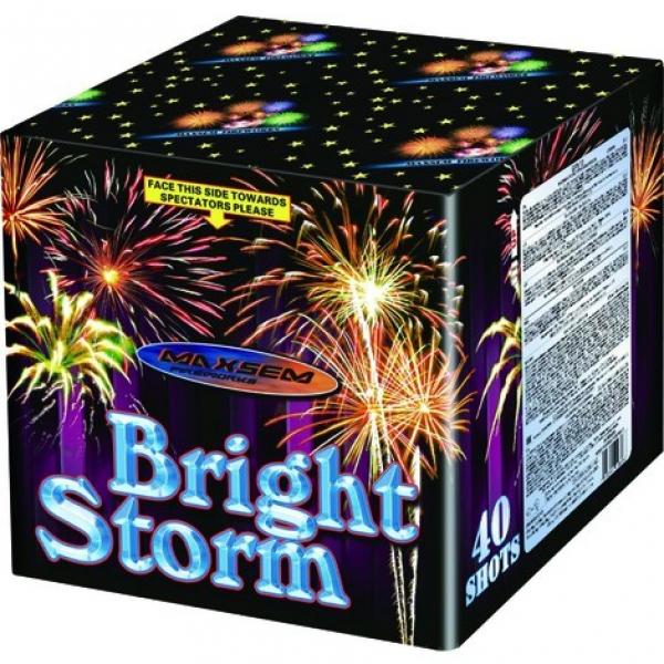 49-зарядные салютные  установки - Bright Storm