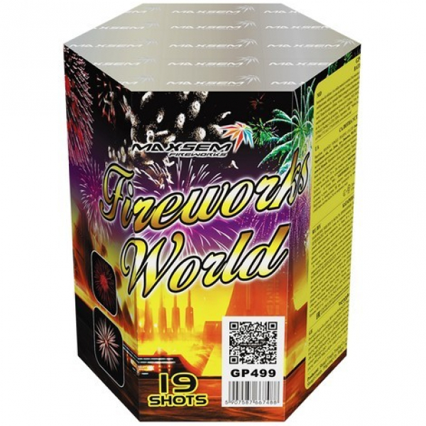 19-зарядные салютные  установки - FIREWORKS WORLD