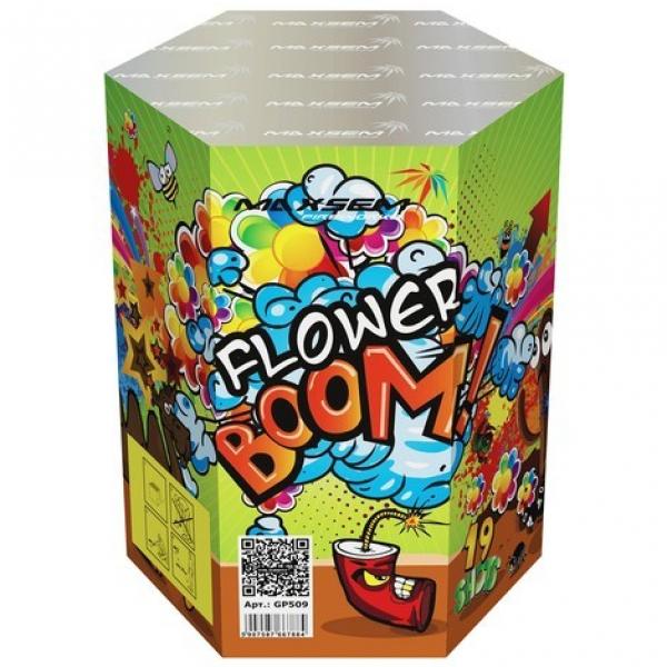 19-зарядные салютные  установки - FLOWER BOOM