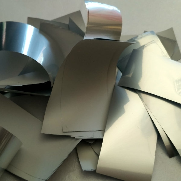 Конфетті - Конфеті срібло глянц+біле мат