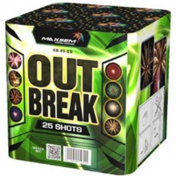 25-зарядні салютні установки - OUT BREAK