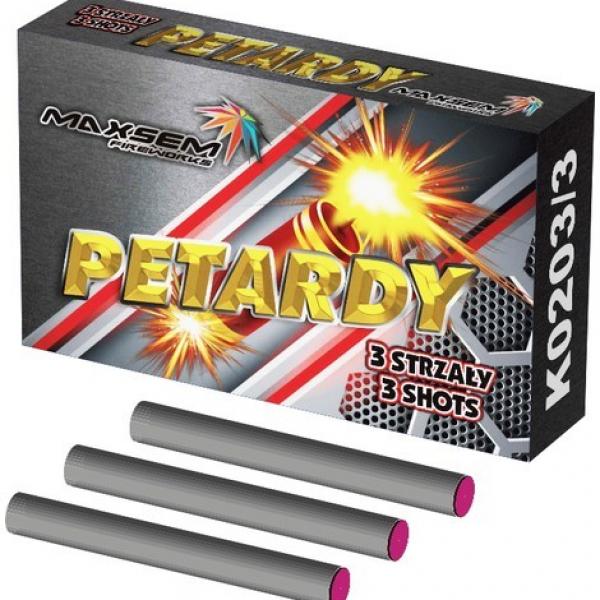 PETARDY 3SHOTS