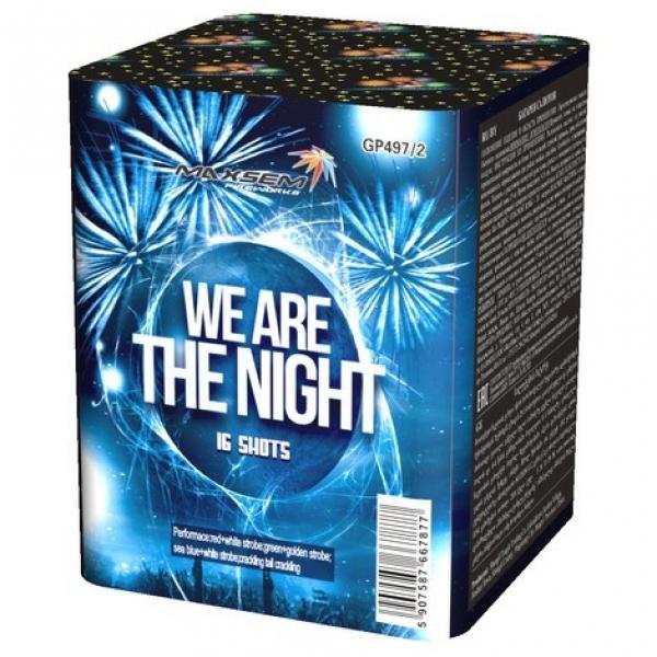 16-зарядні салютні установки - WE ARE THE NIGHT
